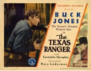 The Texas Ranger - Movie Poster (thumbnail)