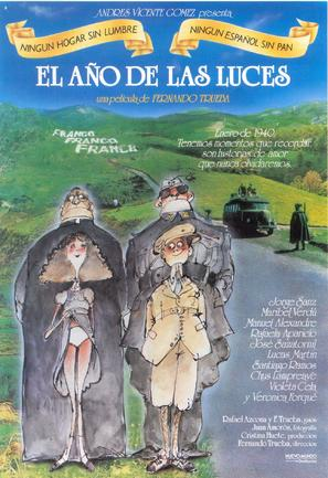 Año de las luces, El - Spanish Movie Poster (thumbnail)