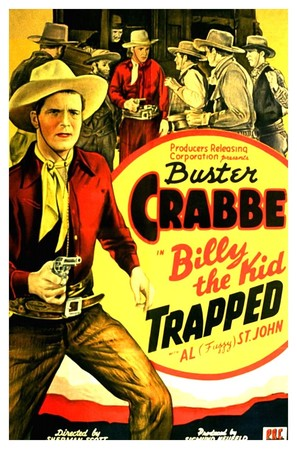 Billy the Kid Trapped - Movie Poster (thumbnail)