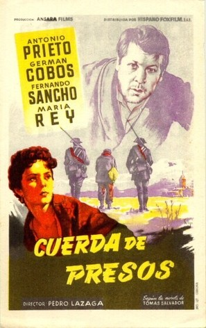 Cuerda de presos - Spanish Movie Poster (thumbnail)