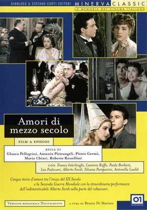 Amori di mezzo secolo - Italian DVD movie cover (thumbnail)