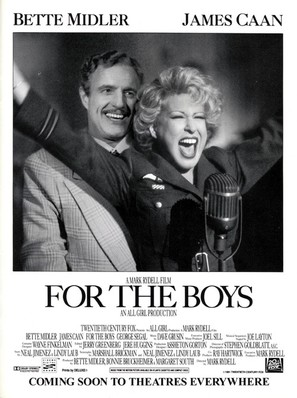 For the Boys - Movie Poster (thumbnail)