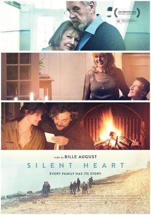 Stille hjerte - Danish Movie Poster (thumbnail)