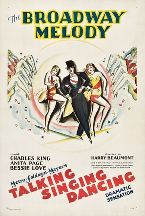 The Broadway Melody - Theatrical poster (thumbnail)