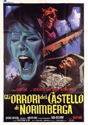 Gli orrori del castello di Norimberga - Italian Movie Poster (thumbnail)