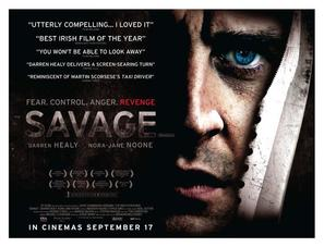 Savage - British Movie Poster (thumbnail)