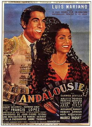 Andalousie - French Movie Poster (thumbnail)