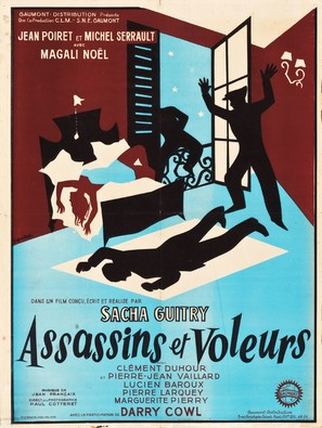 Assassins et voleurs - French Movie Poster (thumbnail)
