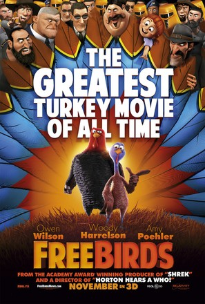 Free Birds - Movie Poster (thumbnail)