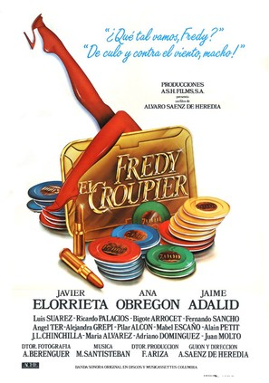 Fredy el croupier - Spanish Movie Poster (thumbnail)
