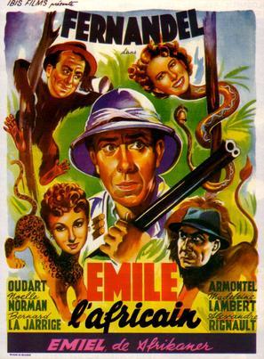Émile l'Africain - Belgian Movie Poster (thumbnail)