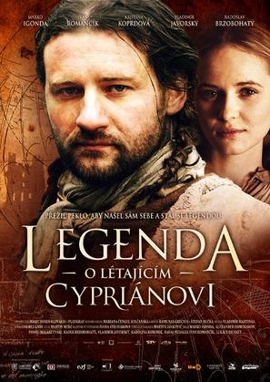 Legenda o Lietajúcom Cypriánovi - Czech Movie Poster (thumbnail)