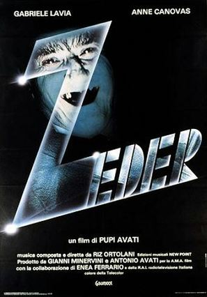 Zeder - Italian Movie Poster (thumbnail)