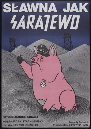 Slawna jak Sarajewo - Polish Movie Poster (thumbnail)