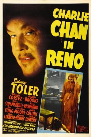 Charlie Chan in Reno - Movie Poster (thumbnail)