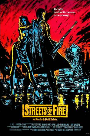 Streets of Fire - Movie Poster (thumbnail)