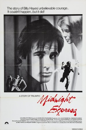 Midnight Express - Movie Poster (thumbnail)