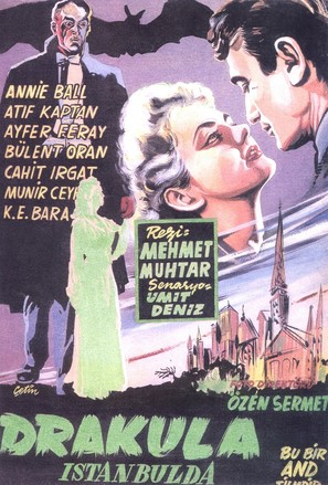 Drakula Istanbul'da - Turkish Movie Poster (thumbnail)