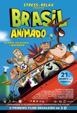 Brasil Animado - Brazilian Movie Poster (thumbnail)