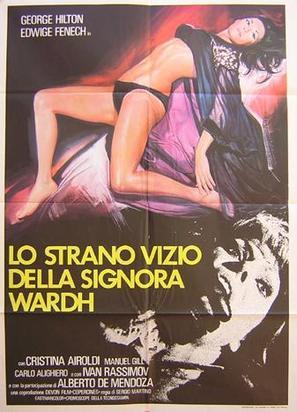 La strano vizio della Signora Wardh - Italian Movie Poster (thumbnail)