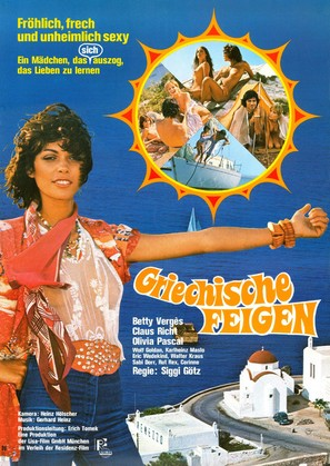 Griechische Feigen - German Movie Poster (thumbnail)