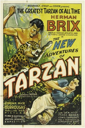 The New Adventures of Tarzan - Movie Poster (thumbnail)