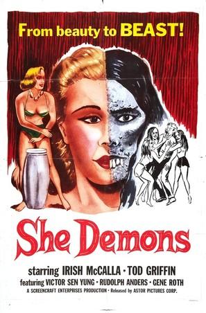 She Demons - Movie Poster (thumbnail)
