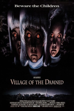 Village of the Damned - Advance poster (thumbnail)