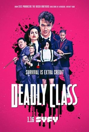 """""""Deadly Class"""" - Movie Poster (thumbnail)"""