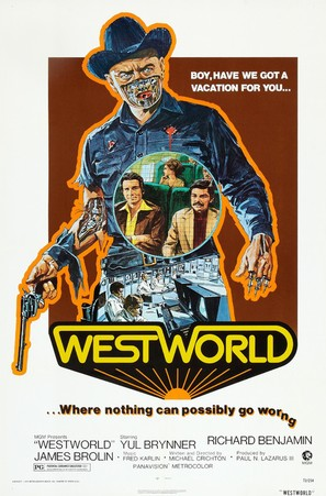Westworld - Theatrical movie poster (thumbnail)