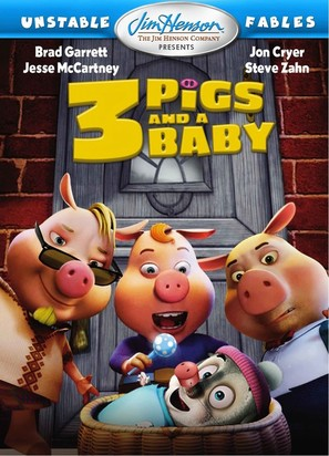 Unstable Fables: 3 Pigs & a Baby - Movie Cover (thumbnail)