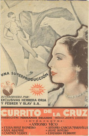 Currito de la Cruz - Spanish Movie Poster (thumbnail)