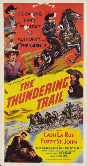The Thundering Trail - Movie Poster (thumbnail)
