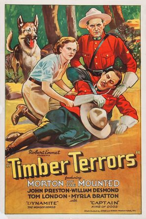 Timber Terrors - Movie Poster (thumbnail)