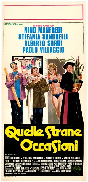 Quelle strane occasioni - Italian Movie Poster (thumbnail)