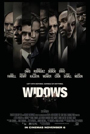 Widows - British Movie Poster (thumbnail)