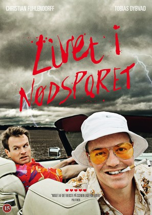 """Livet i nødsporet"" - Danish Movie Cover (thumbnail)"