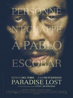Escobar: Paradise Lost - French Movie Poster (thumbnail)