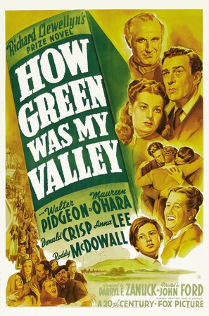 How Green Was My Valley - Movie Poster (thumbnail)