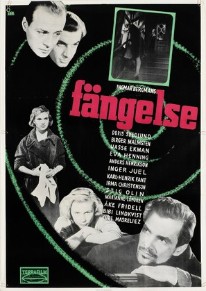 Fängelse - Swedish Movie Poster (thumbnail)