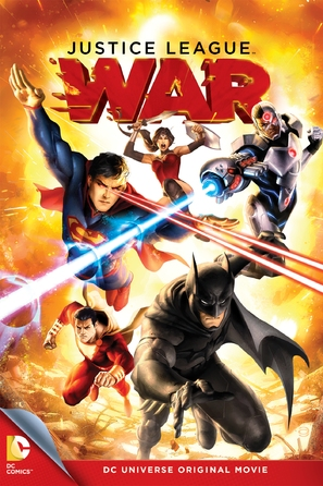 Justice League: War - DVD cover (thumbnail)