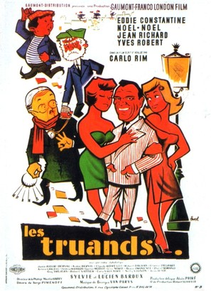 Les truands - French Movie Poster (thumbnail)