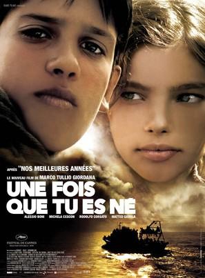 Quando sei nato non puoi più nasconderti - French Movie Poster (thumbnail)