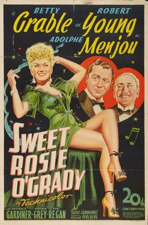 Sweet Rosie O'Grady - Movie Poster (thumbnail)