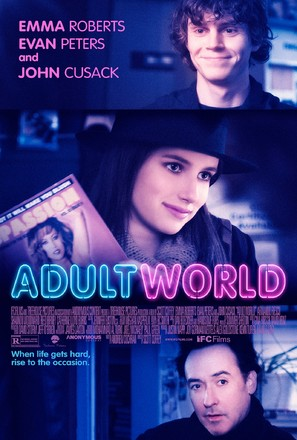 Adult World - Movie Poster (thumbnail)