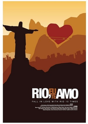 Rio, Eu Te Amo - Brazilian Movie Poster (thumbnail)