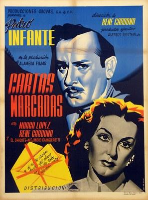 Cartas marcadas - Mexican Movie Poster (thumbnail)