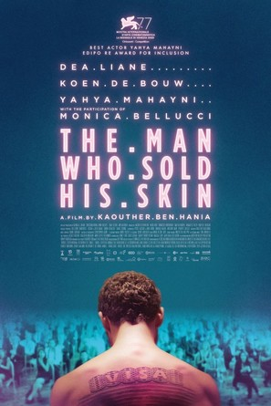 The Man Who Sold His Skin - International Movie Poster (thumbnail)