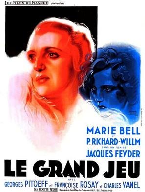 Le grand jeu - French Movie Poster (thumbnail)