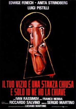 Il tuo vizio è una stanza chiusa e solo io ne ho la chiave - Italian Movie Poster (thumbnail)